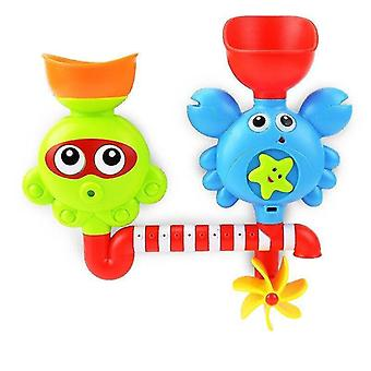 Bath toys crabs water spray bath toy for children music and lights bathroom shower pool bathtub soap swimming