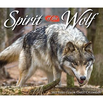 Spirit of the Wolf 2022 Box Calendar  Wolves Daily Desktop by Willow Creek Press