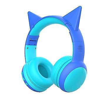 Bluetooth Headphone For Kids(Blue)