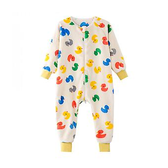 Children's Pajamas Warm Home Clothes Baby Romper Girl's