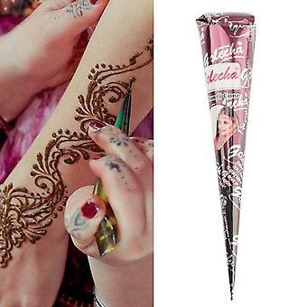 Henna Tattoo Creme Temporäre Körper Kunst Malerei Kegel Schnelle Trocknung Körper Zeichnung Tinte Stick