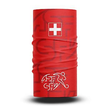 ネックガイターズフットボールヘッドスカーフワールドカップファン男性と女性多機能カラースポーツライディング日焼け止めビブ - スイスチーム