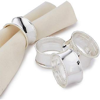 Ensemble d'anneaux de serviette pour la décoration de table 8 pièces