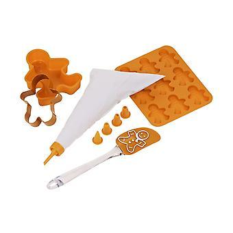 5PC Zestaw do pieczenia dla dzieci Kids pieczenia Gingerbread Man Narzędzia