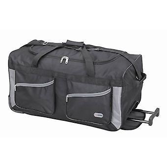 27 inch Black Luggage Trolley Bag Holdall travel Suitcase Bag