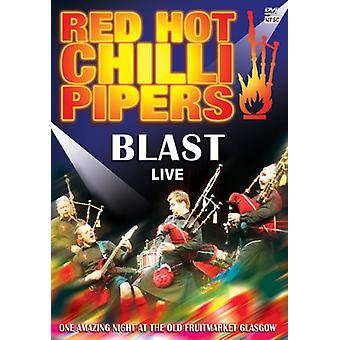 Red Hot Chilli Pipers - Blast Live [DVD] USA import