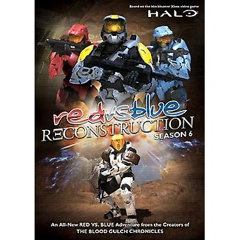 Red vs. Blue-Reconstruction [DVD] USA import