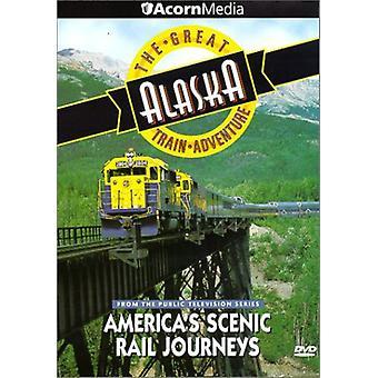 Große Zug-Abenteuer Alaska [DVD] USA import