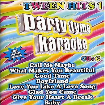 Party Tyme Karaoke - Party Tyme Karaoke: Vol. 1-Tween Hits [CD] USA import
