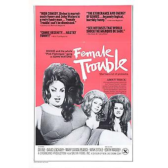 Female Trouble Movie Poster (11x17)