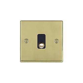 Hamilton Litestat Hartland Polished Brass 20A Cable Outlet BL