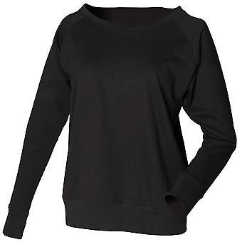 Skinni Fit Ladies/Womens Slounge Sweatshirt