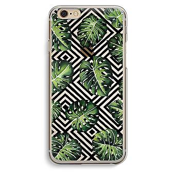IPhone 6 6 s transparentes Gehäuse (Soft) - geometrische Dschungel