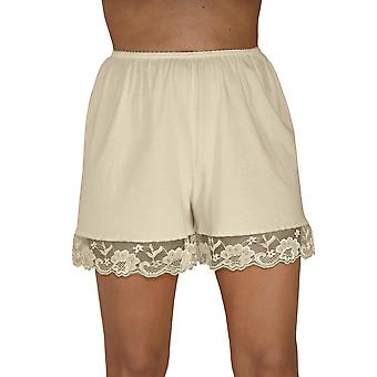 Underworks Pettipants cotone maglia Culotte Slip Bloomers Split gonna 4 pollici Inseam