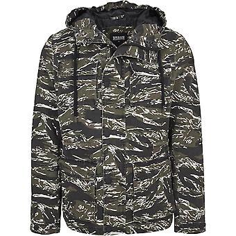 Urban classics - TIGER CAMO COTTON transition jacket
