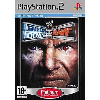 WWE Smackdown vs RAW (PS2)-fabriek verzegeld