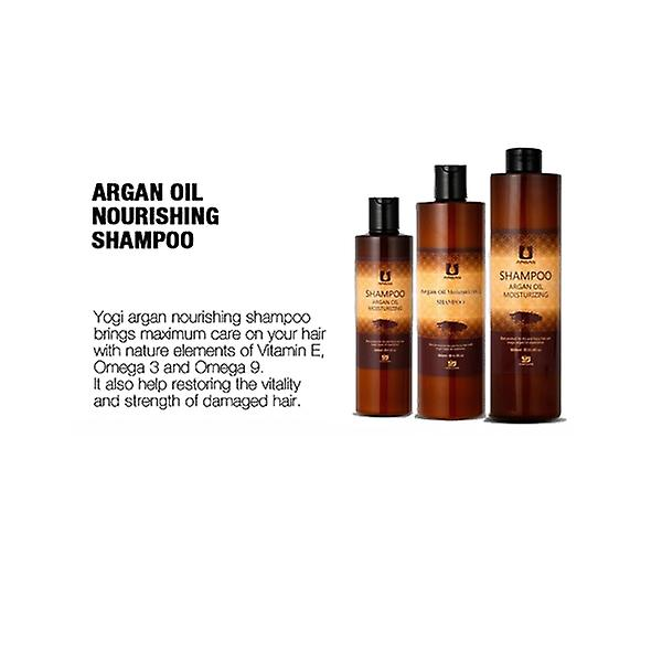 Argan oil moisturizing hår kit (med väska)