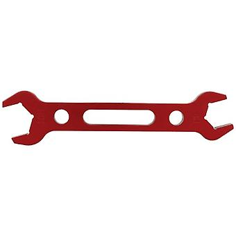 Allstar Performance ALL11128 Red -8/-10 Hose Double-Ended Aluminum Wrench