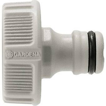 GARDENA 18202-50 Kunststoff-Hahn-Stecker 30,3 mm (1) IT, Schlauchstecker