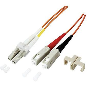 EFB Elektronik Fibreglass FOC Cable [1x LC plug - 1x SC plug] 9/125 μ Singlemode OS2 2.00 m
