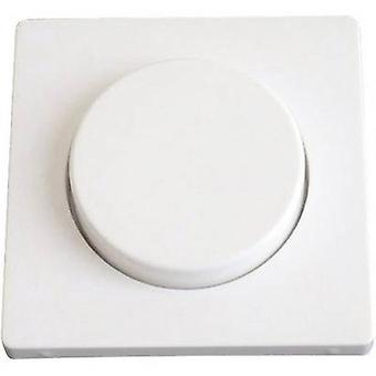 Berker Cover Dimmer Q.3, Q.1 Polar white 1137 60 89