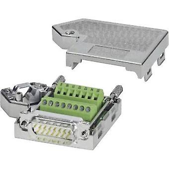Phoenix Kontakt SUBCON 15/M-SH 2761606 D-SUB Stecker 180 ° Anzahl der Stifte: 15 Schrauben 1 Stk.