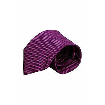 Purple silk tie VC63