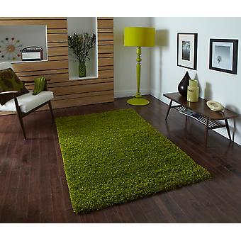 Vista - einfache 2236 Green grün Rechteck Teppiche Plain/fast schlicht Teppiche