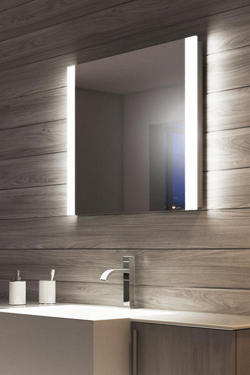 Dade Double Edge Bathroom Mirror with Demister Pad & Sensor k460
