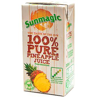 Sunmagic 100% Pineapple Fruit Juice Cartons