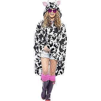 Lehmän Party Poncho, yksi koko