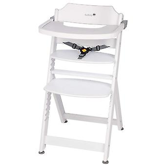 Siguranța 1st Timba White highchair