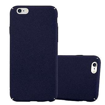 Cadorabo حالة لأبل اي فون 6 / iPhone 6S تغطية القضية - حقيبة الهاتف البلاستيكية الصلبة ضد الخدوش والمطبات – قضية واقية الوفير الترا سليم الغطاء الخلفي القضية الصلبة