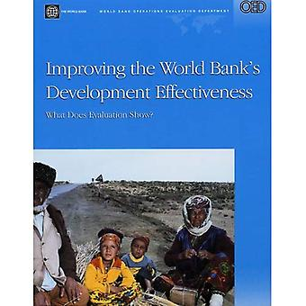 Amélioration de l'efficacité du développement de la Banque mondiale