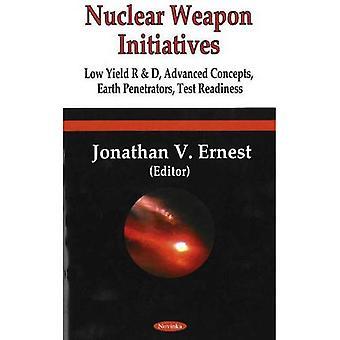 Iniciativas de arma nuclear: Baixo rendimento R e D, avançados conceitos, passagens de terra, preparação para teste