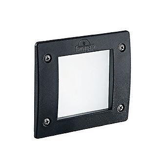 Ideale Lux - Leti Square Black LED inbouw licht IDL096582