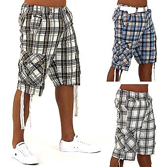 Mens Shorts Fresh look Bermuda Cargo Capri Shorts Vintage shorts Casual