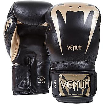 Venum Giant 3.0 Hook and Loop MMA Training Gloves - Black/Gold