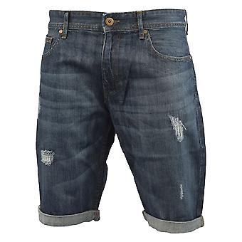 Mens ripped jeans short smith and jones dorban
