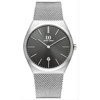 Dansk design Tidlos Tasinge stort ur-grå