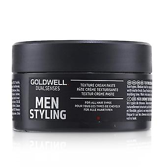 Goldwell Dual Senses Men Styling Texture Cream Paste (for All Hair Types) - 100ml/3.3oz