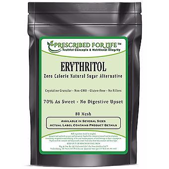Erytritol-niet-GGO nul calorie natuurlijke granulaire suiker alternatief-70% zoetheid van suiker