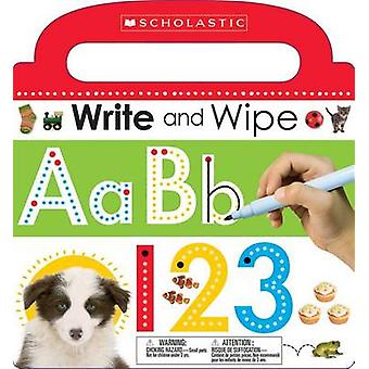 Write and Wipe ABC 123 by Scholastic - 9780545906401 Book