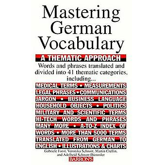 Mastering German Vocabulary by Gabriele Forst - etc. - 9780812091083