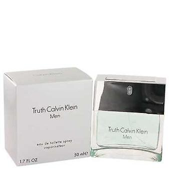 Truth By Calvin Klein Eau De Toilette Spray 1.7 Oz (men) V728-402158