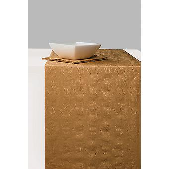 Ambiente Paper Table Runner, 33cm x 6m Elegance Bronze