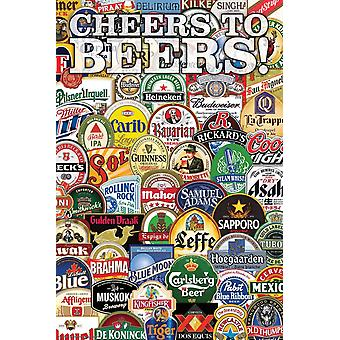 Poster - Drinking - Cheers to Beers Wall Art Licensed Gifts Toys 241216