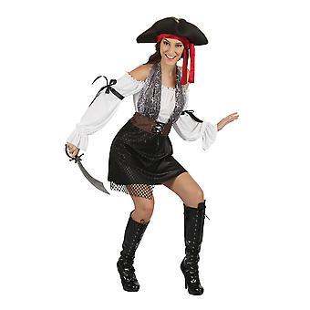 Bristol Novelty Mujeres/Damas Pirate Traje