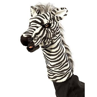 Hand Puppet - Folkmanis - Zebra Stage Puppet New Toys Soft Doll Plush 2565