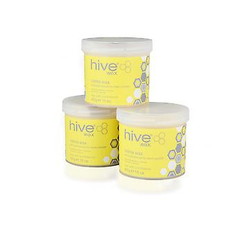Hive Of Beauty Waxing Depilatory Creme Wax Lotion Strong Fine Hair Removal 3for2